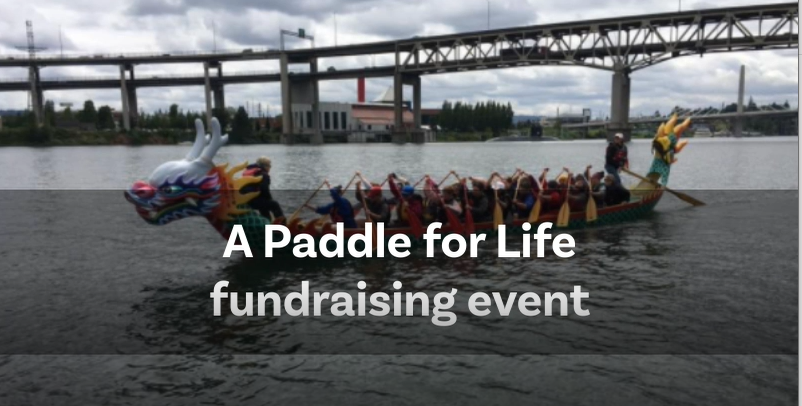 Paddle for Life fundraising
